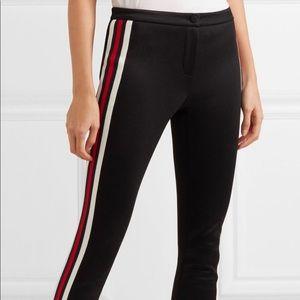 Gucci Striped tech-jersey stirrup leggings